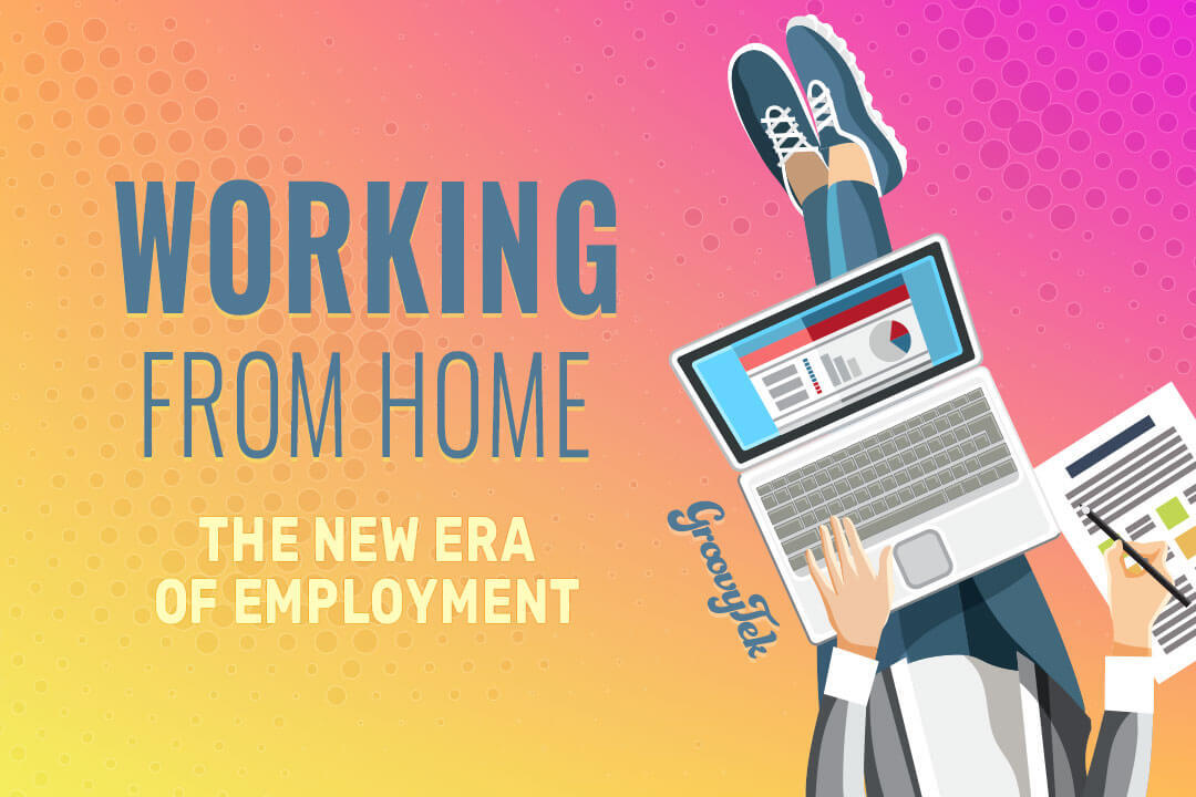 Working From Home Illustration | Remote Employee